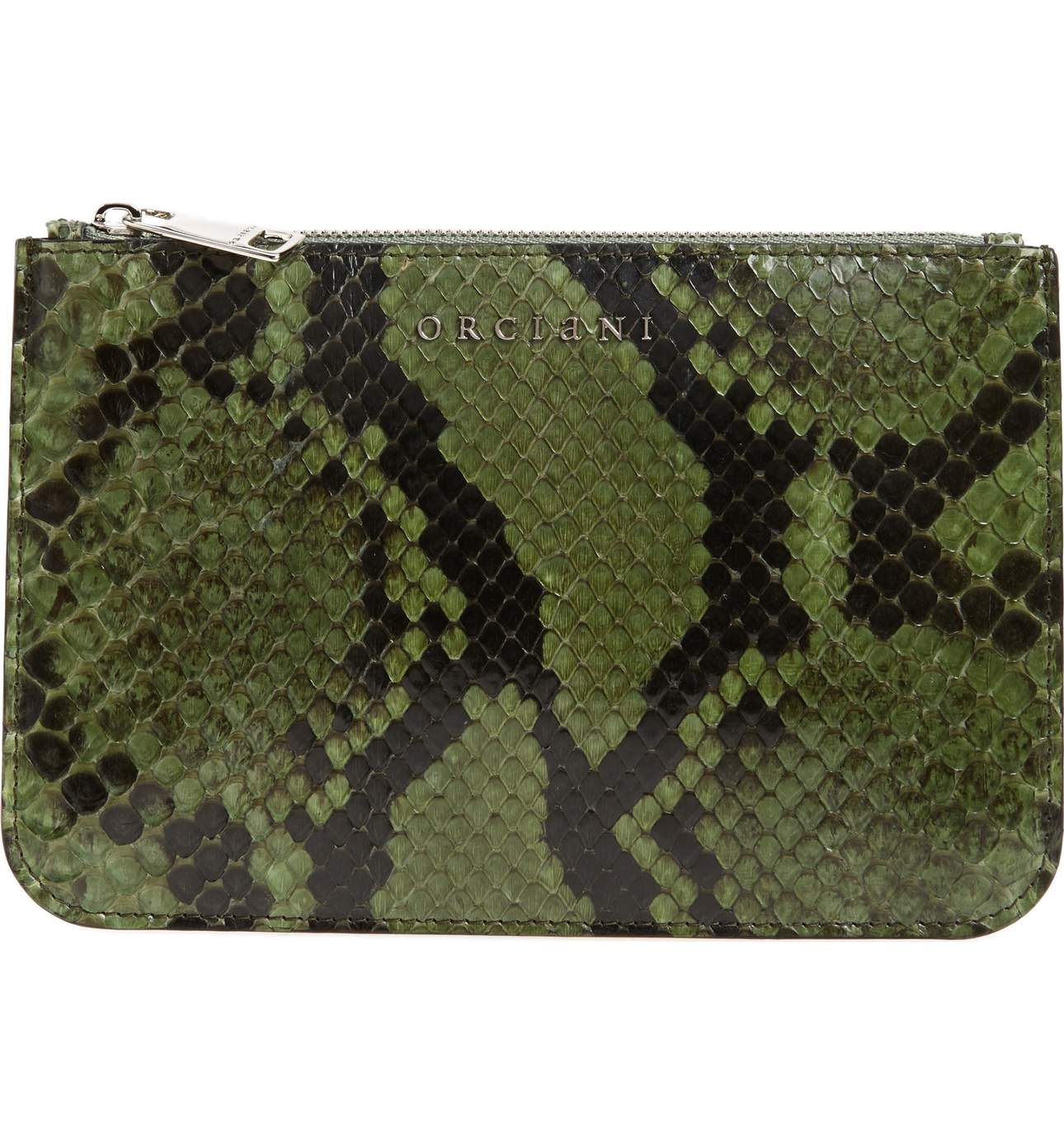 ORCIANI Genuine Python Pouch