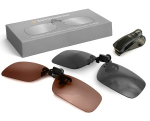 Polarized Clip-On Sunglasses Set by ElementsActive