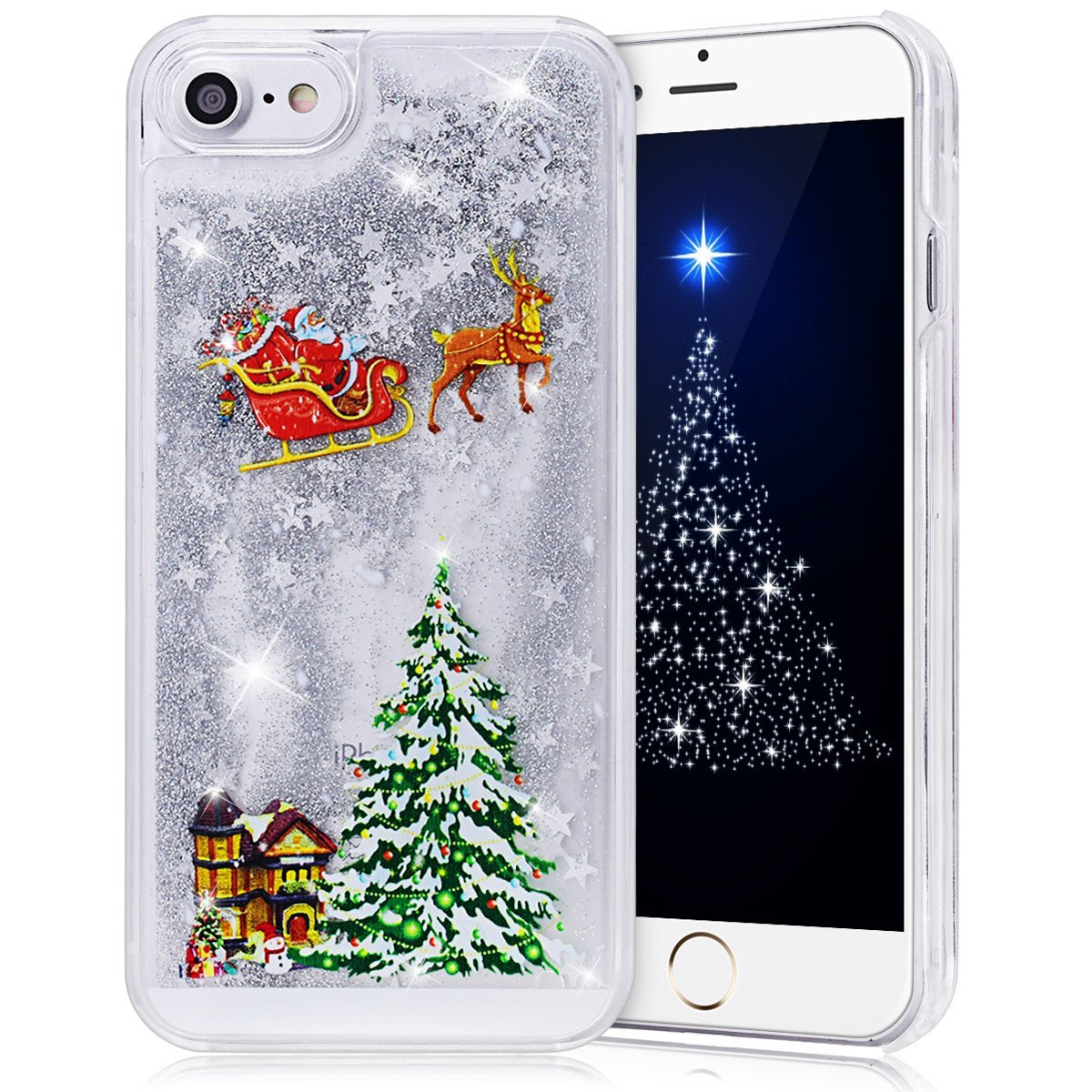 Christmas phone case best iphone 7 gel