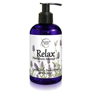 Relax Therapeutic Body Massage Oil by Brookethorne Naturals