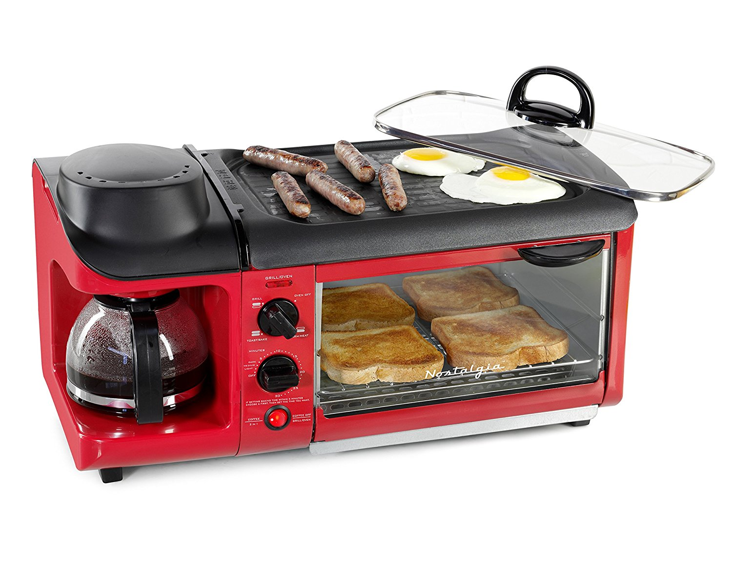 retro kitchen appliances 8 best decor items 3-in-1 breakfast maker