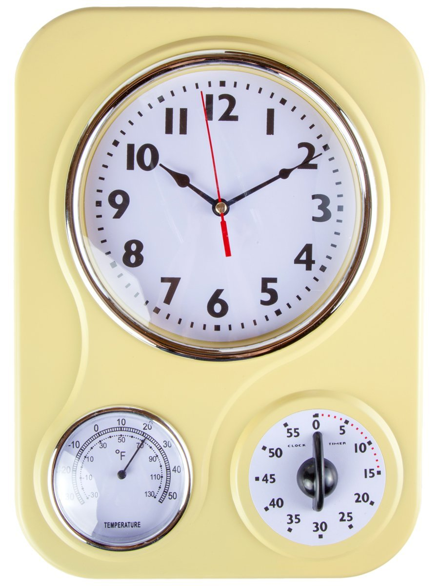 retro kitchen appliances 8 best decor items three face clock