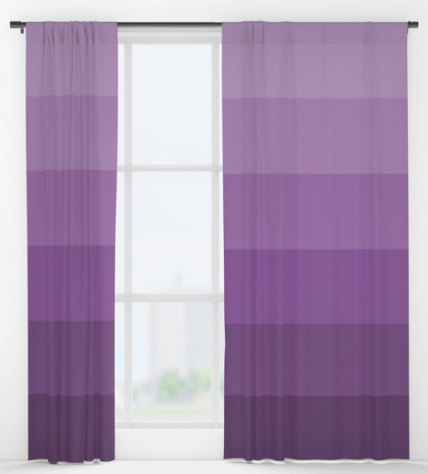 søciety6 ultra violet curtains