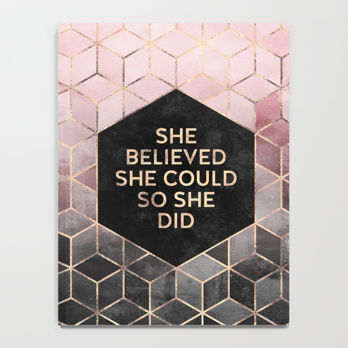 desk accessories best new year resolutions she believed she could so she did notebook
