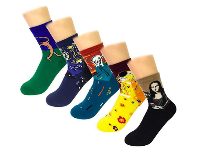 Art History Socks