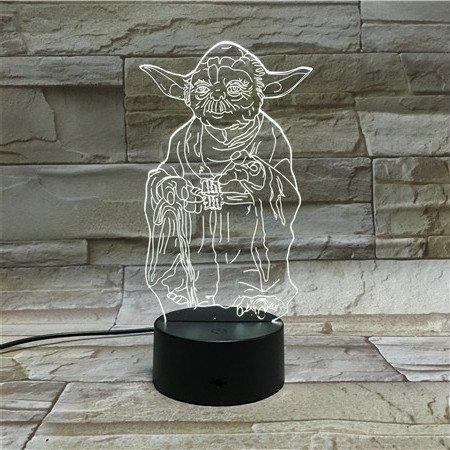star wars 3d yoda lamp