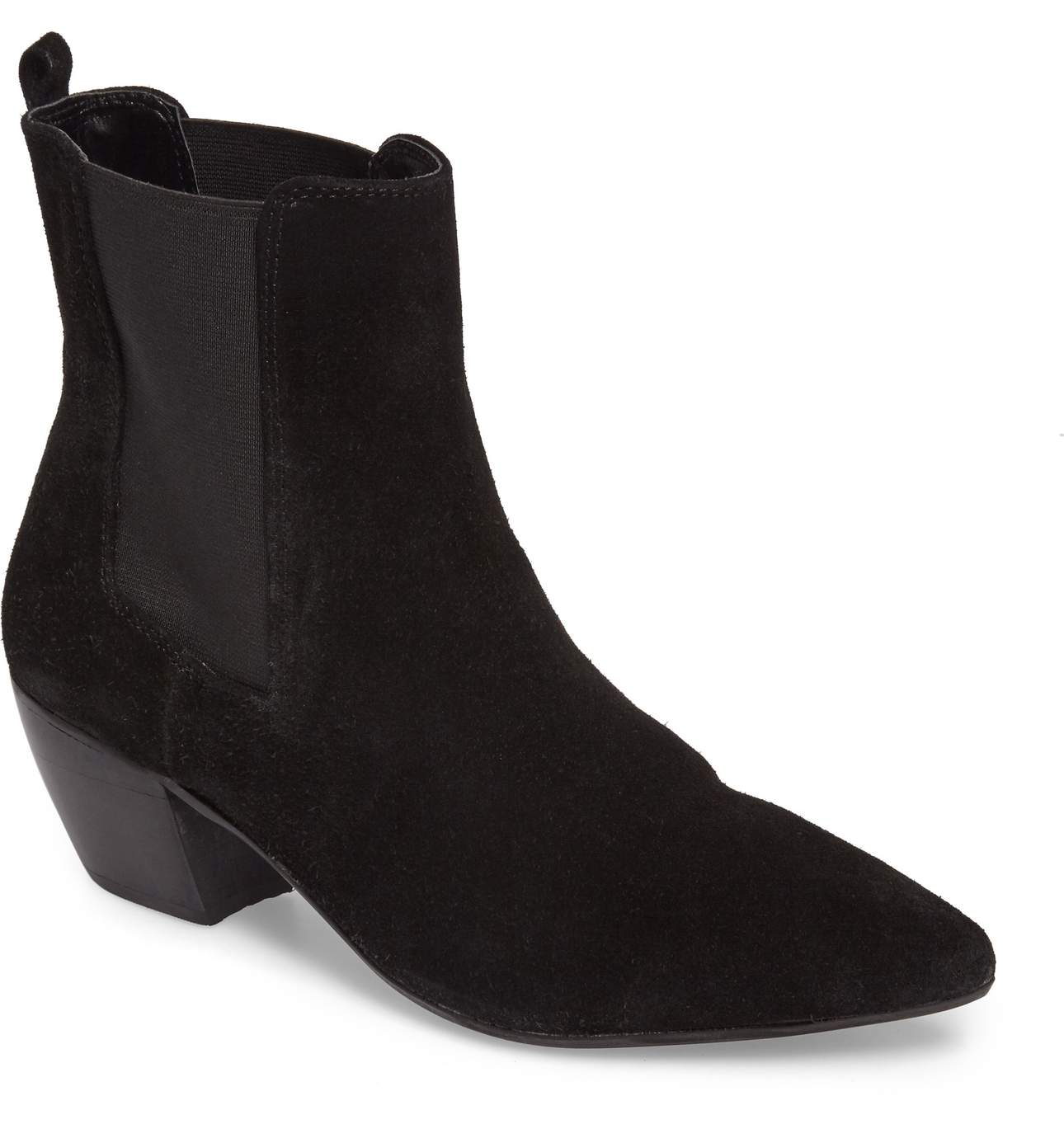 Bounty Suede Pointy Toe Bootie