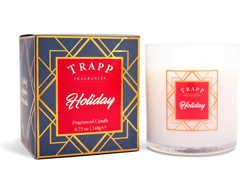 Christmas candles seasonal winter holiday scents trapp cinnamon stick gingerbread bourbon vanilla