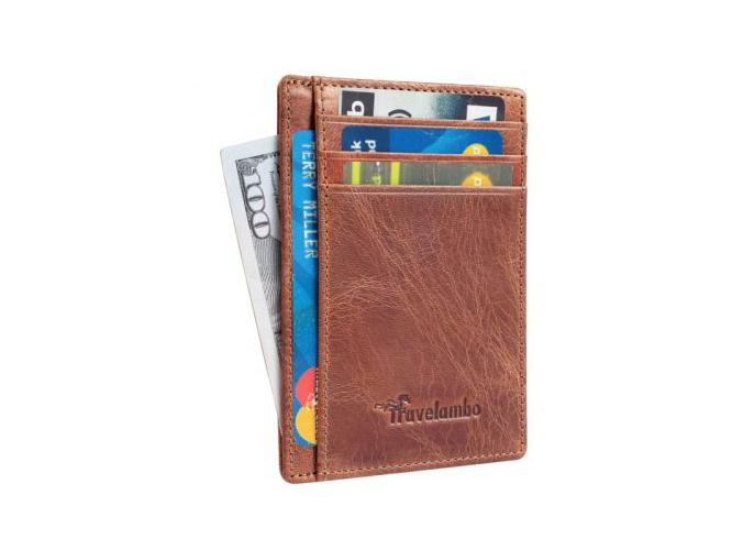 leather wallet amazon
