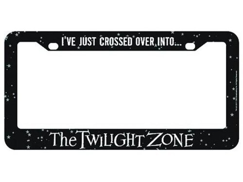 Twilight Zone license plate frame