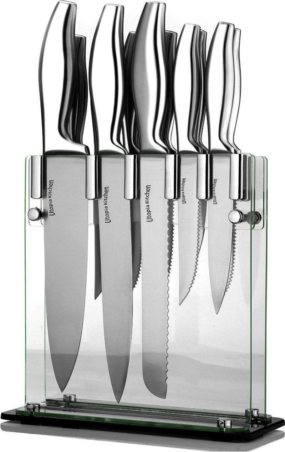 Utopia Kitchen Stainless Steel Kitchen Knives