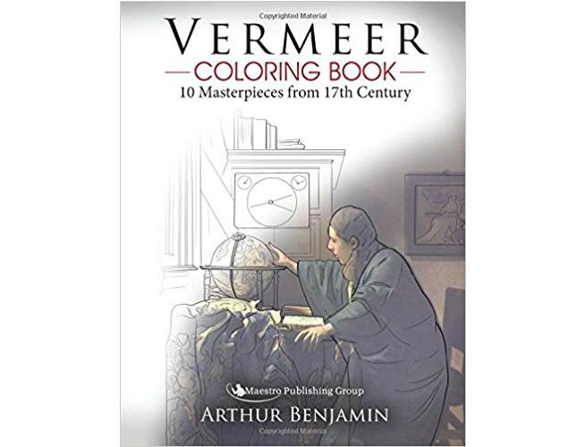 vermeer coloring book