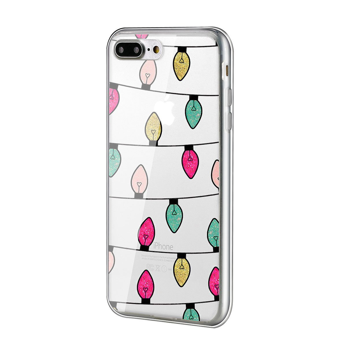 Christmas phone case best lights iphone 7