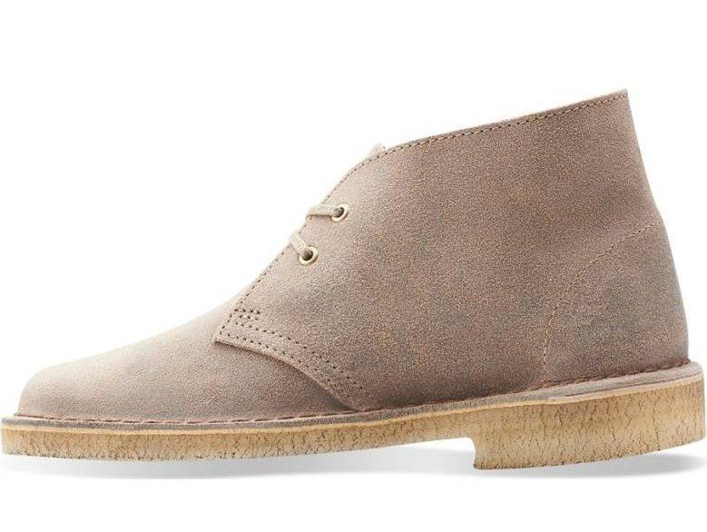 Clark's suede desert boots