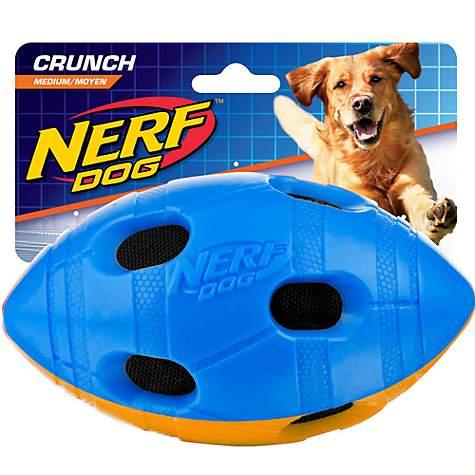 nerf dog football