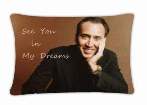 Nicolas Cage Art Pillow