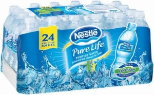 pure life water amazon