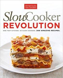 Cookbook Slow Cooker Revolution