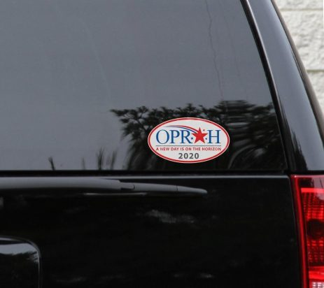 oprah 2020 bumper sticker