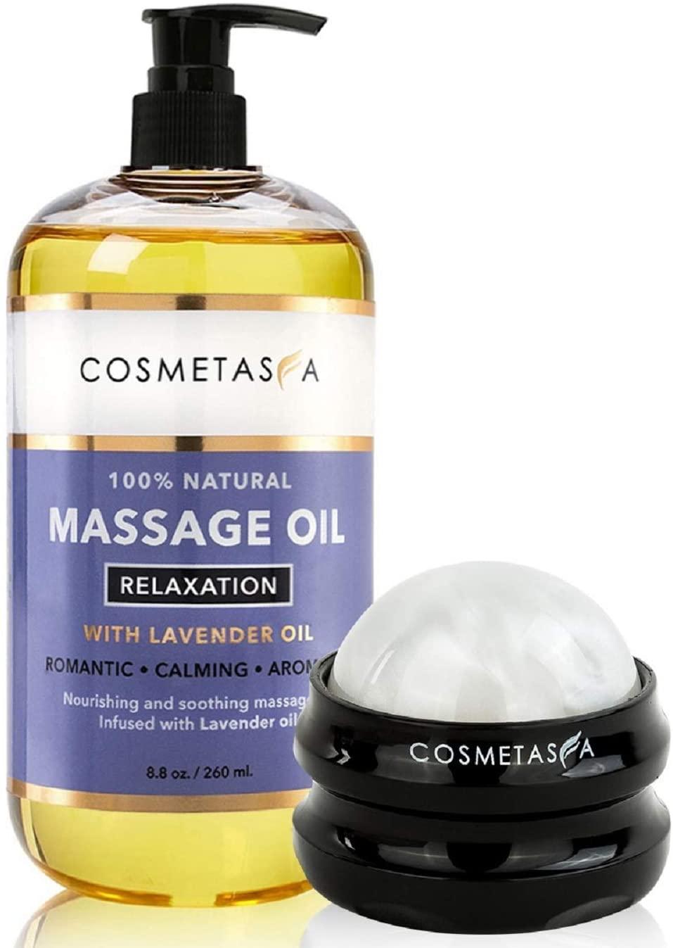 Cometasa Sensual Lavender Massage Oil, best massage oil