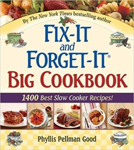 Cookbook Fix-It and Forget It
