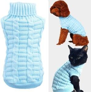 Wiz BBQT Knitted Braid Plait Turtleneck Sweater