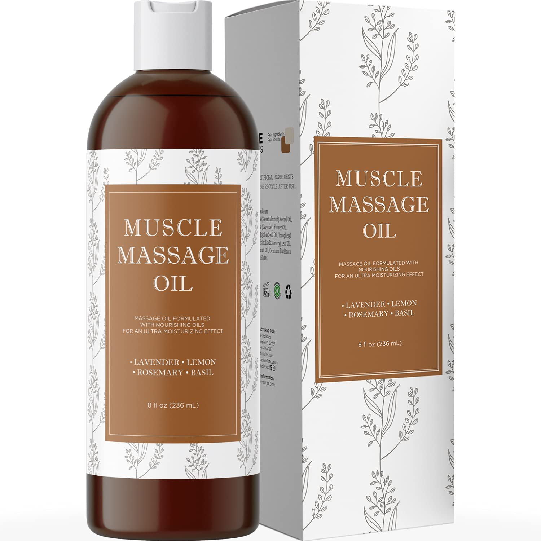 Muscle Pain Massage Oil by Maple Holistics, best massage oil
