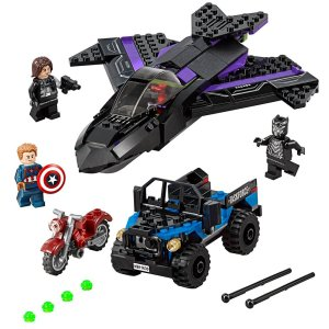 LEGO black panther captain america