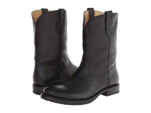 Black Cowboy Boots Men's