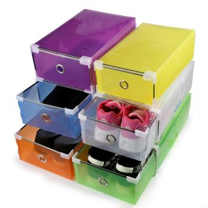Shoe Boxes Colorful