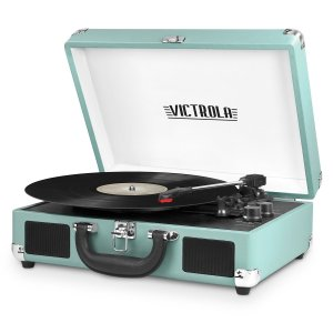 Record Player Turntable Suitcase Victrola