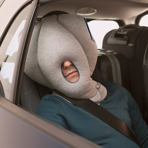 Sleeping in Car Ostrich Pillow
