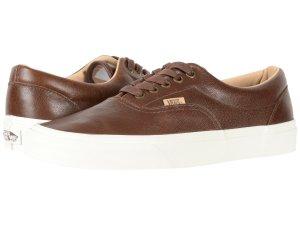 Brown Leather Sneakers Vans