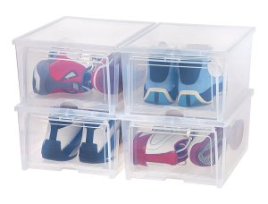Shoes in Boxes Storage