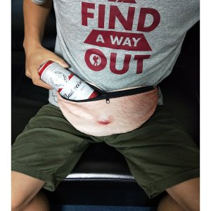 Funny Fanny Pack Dad Bod