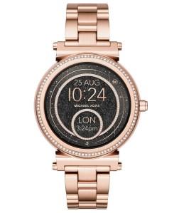 Rose Gold Smartwatch Michael Kors