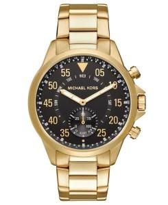 Gold Tone Watch Michael Kors