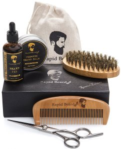 Beard Grooming Kit Rapid