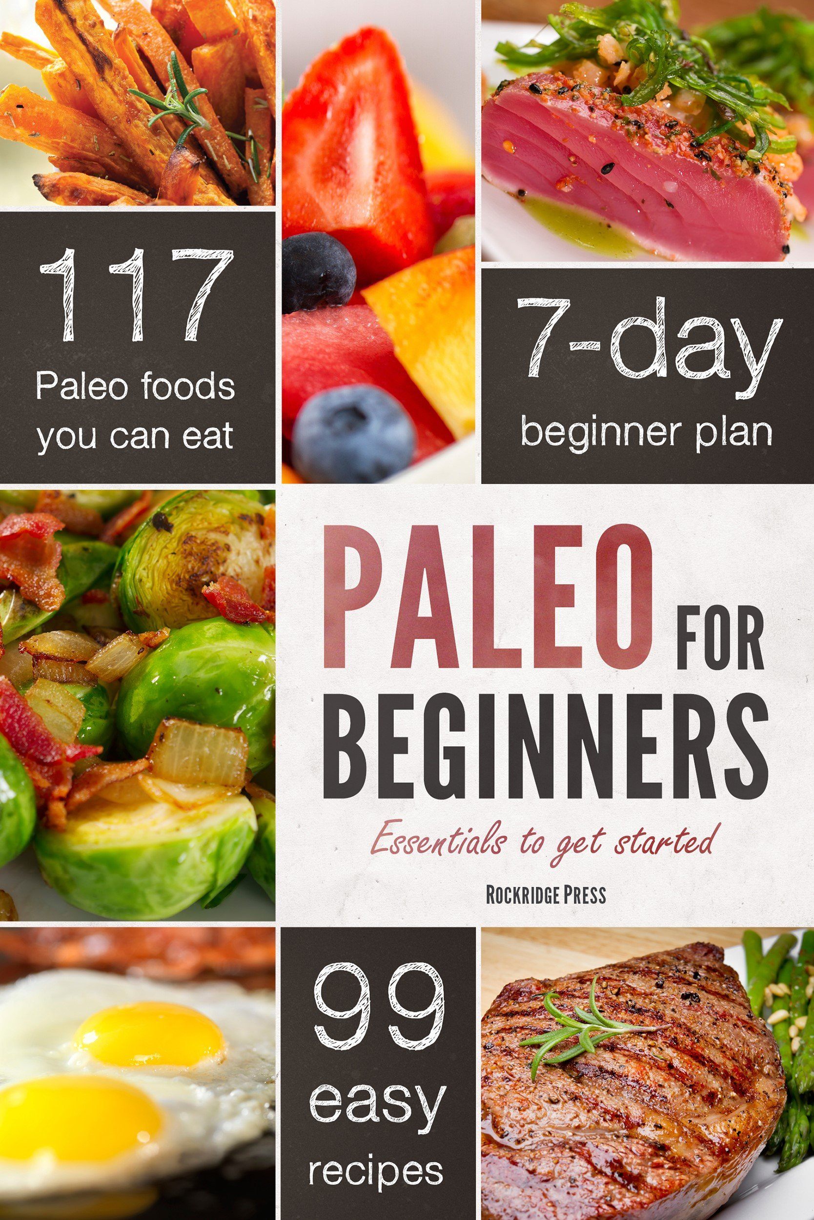Paleo for Beginners Diet Book