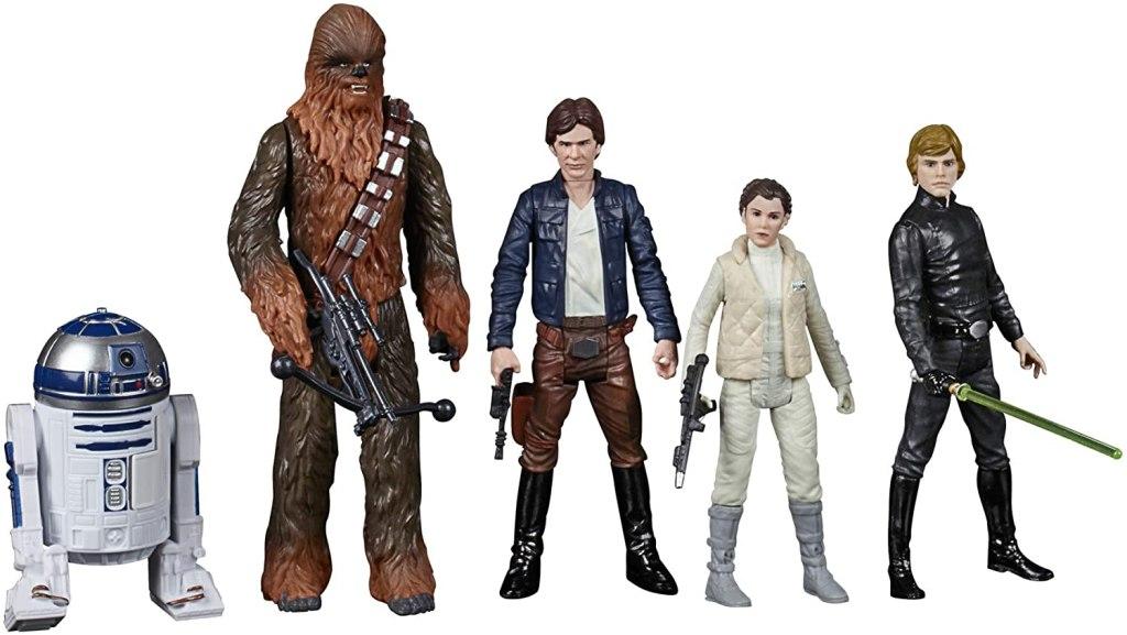 celebrate saga toys luke han Chewbacca leia r2