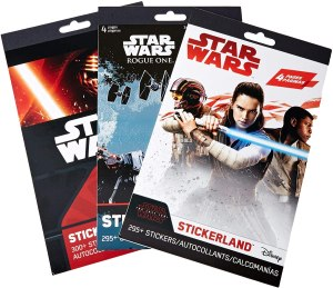 star wars toys stickers variety pack