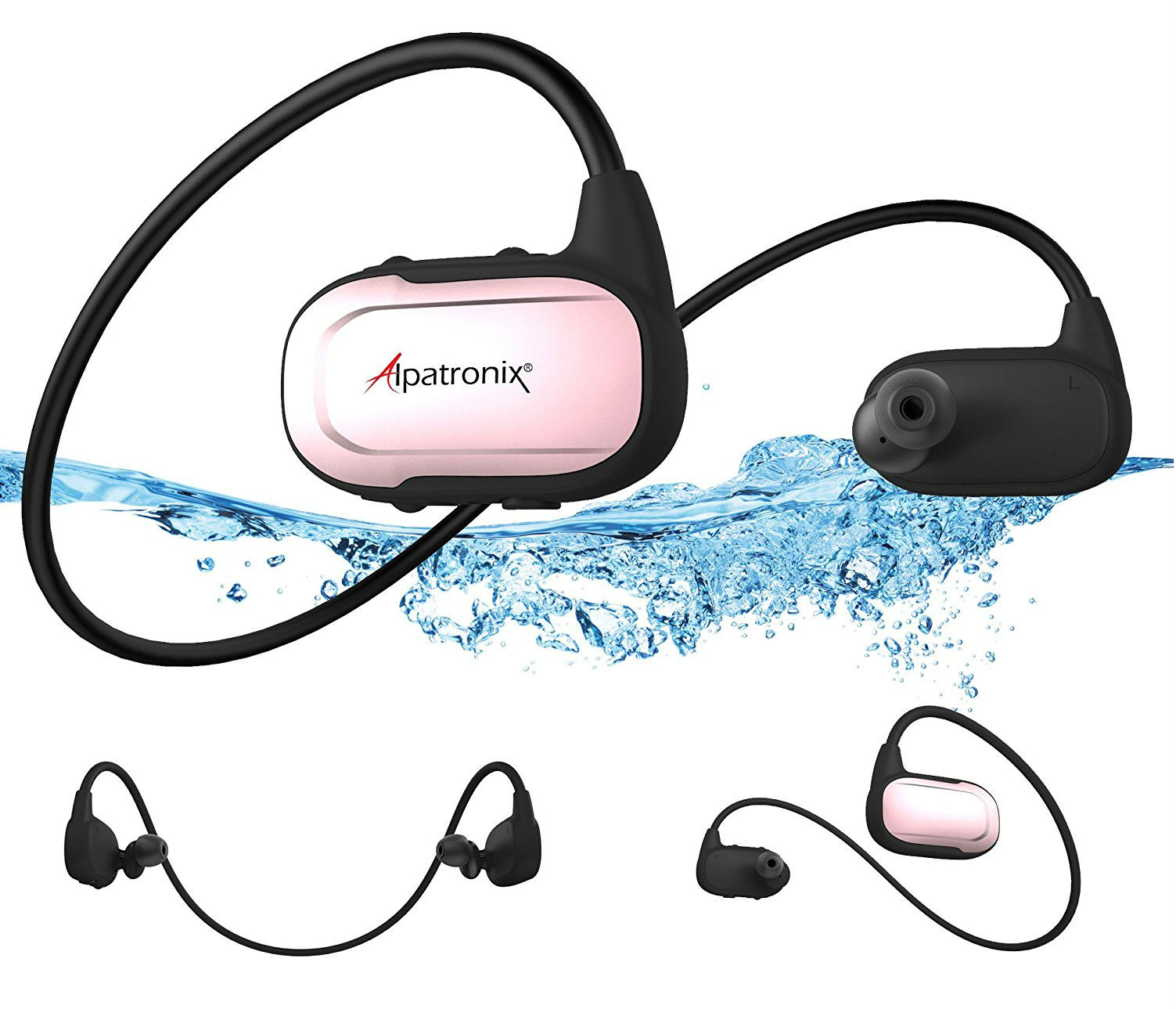 Alpatronix HX250 Waterproof Bluetooth Headset