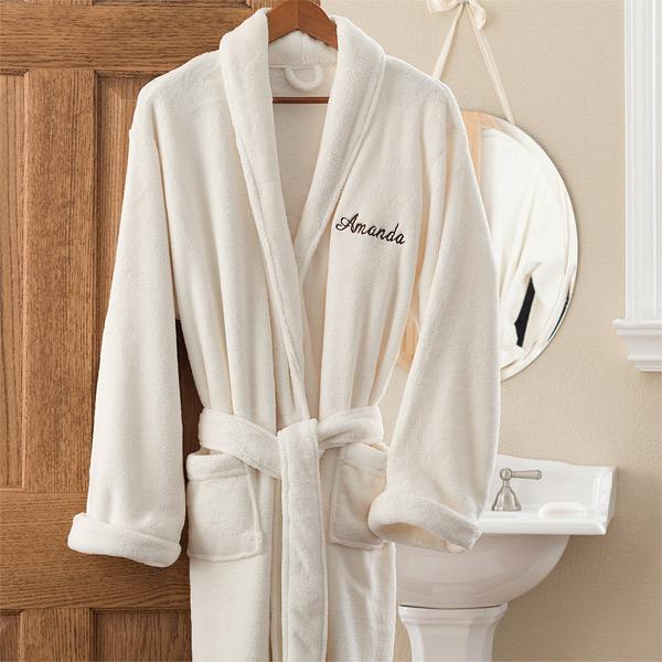 anniversary gift ideas 10 best presents for women personalized fleece bath robe