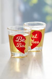 Best Babes Shot Glass Set by Urban Outfitters