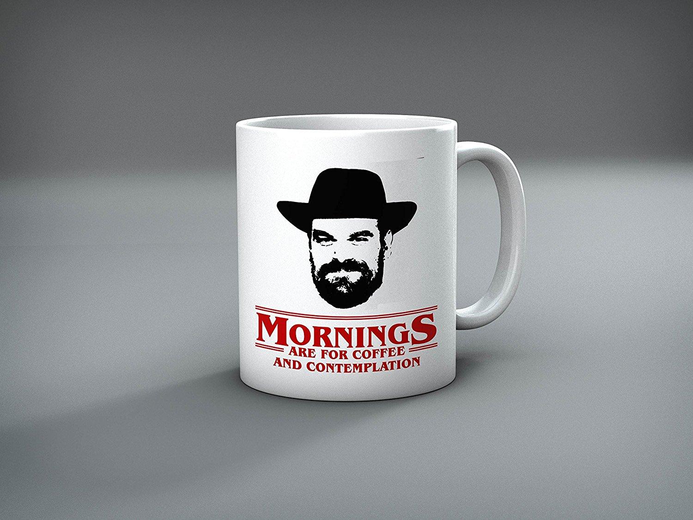 Stranger Things chief hopper mug