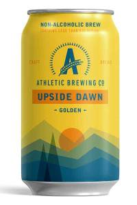 Athletic Brewing golden ale, how to host a healthy super bowl party