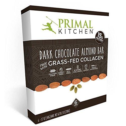collagen supplement reduce inflammation dark chocolate almond protein bars