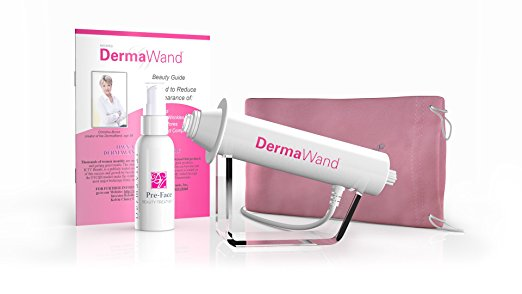 dermaroller microneedling how to try at home skin care dermawand amazon
