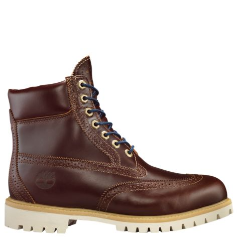 Timberland brogue boots