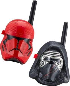 ekids star wars walkie talkie kylo ren first order trooper